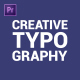 Creative Typography - VideoHive Item for Sale