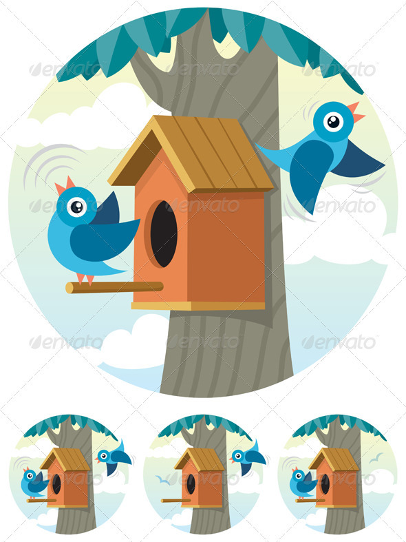 Birdhouse - Animals Characters