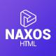 Naxos - App Landing Page Template
