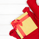 Christmas gift giving concept with copy space - PhotoDune Item for Sale