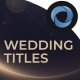 Wedding Titles l Marriage Ceremony l Couples Wedding Slideshow l Marriage Celebrations - VideoHive Item for Sale