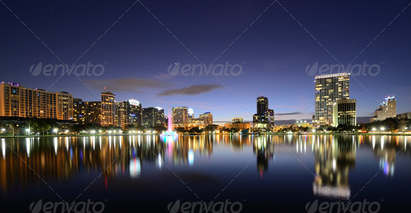 Orlando Skyline - Stock Photo - Images