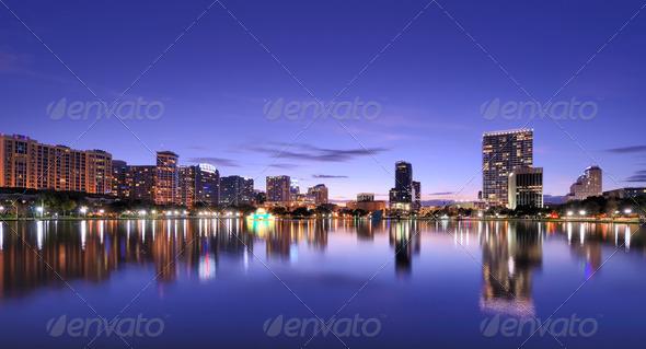 Orlando Skyline - Stock Photo - Images