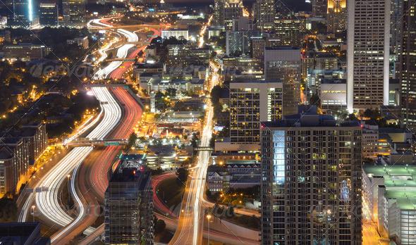 Atlanta Cityscape - Stock Photo - Images