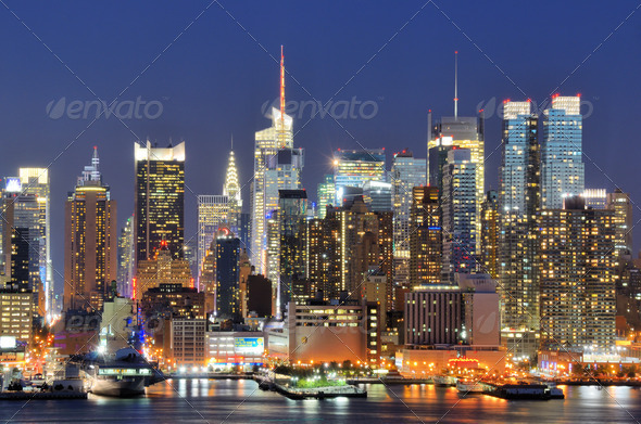 New York City Skyline - Stock Photo - Images