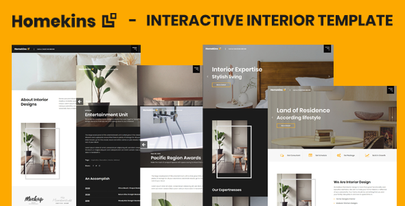 Homekins - Interactive Interior Template