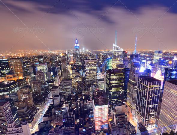 New York CitySskyline - Stock Photo - Images