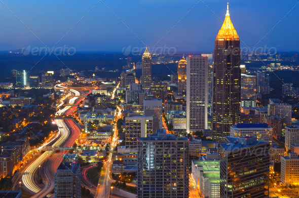 Atlanta Georgia - Stock Photo - Images