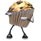 Cupcake-Muffin Cartoon Character Dance (5-Pack) - VideoHive Item for Sale