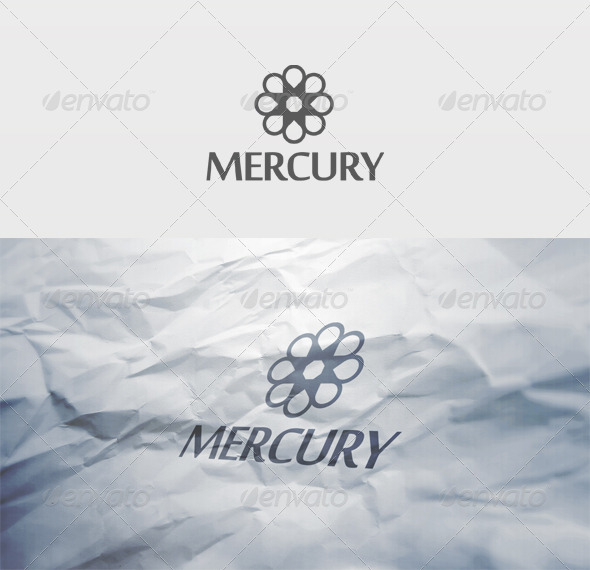 Mercury Logo - Vector Abstract
