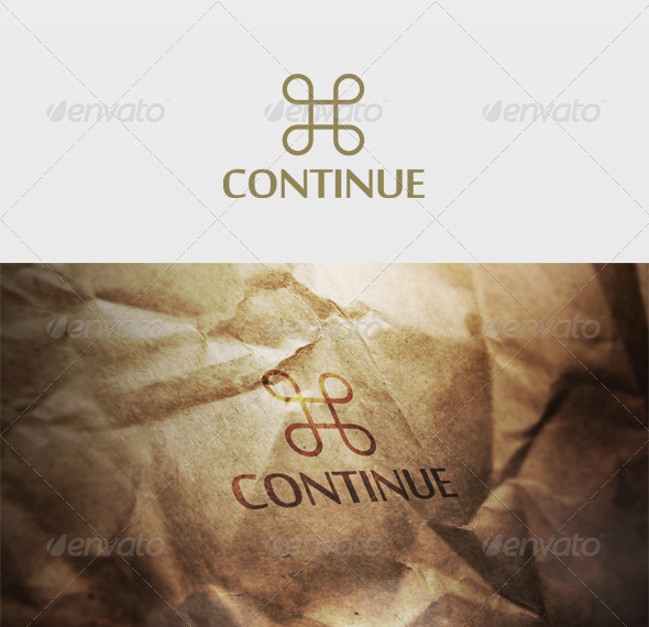 Continue Logo - Vector Abstract