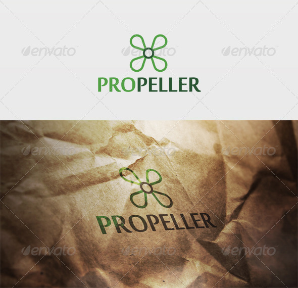 Propeller Logo - Vector Abstract