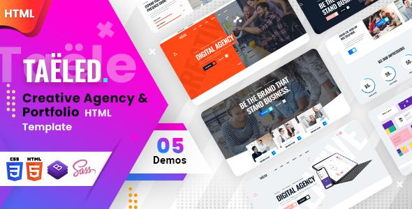 TAELED - Creative Agency HTML Template