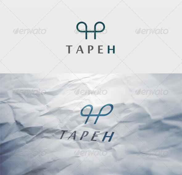 Tapeh Logo - Letters Logo Templates
