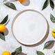 Whole oranges witl orange tree leaves on white background - PhotoDune Item for Sale