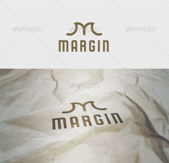 Margin Logo - Letters Logo Templates