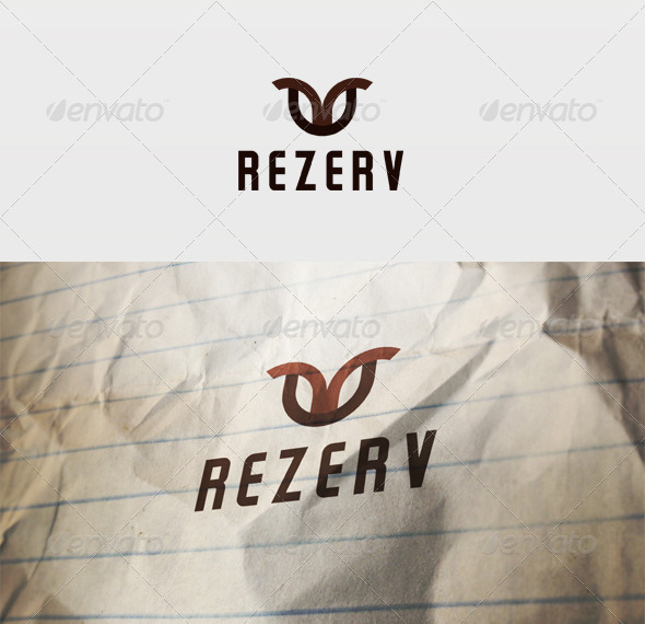 Rezerv Logo - Vector Abstract