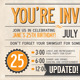 Invitation Postcard - GraphicRiver Item for Sale