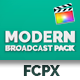 Modern Broadcast Pack - Final Cut Pro & Apple Motion - VideoHive Item for Sale