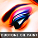 Duotone Oil Painting Effect