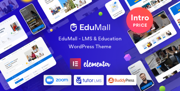 EduMall – Professional LMS Education Center WordPress Theme