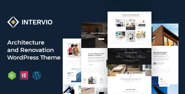 Intervio – Architecture WordPress Theme