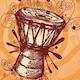 Tribal Drum Logo