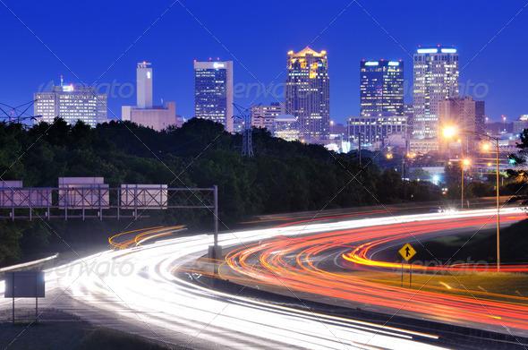 Birmingham, Alabama Skyline - Stock Photo - Images