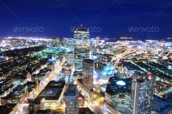 Downtown Boston - Stock Photo - Images