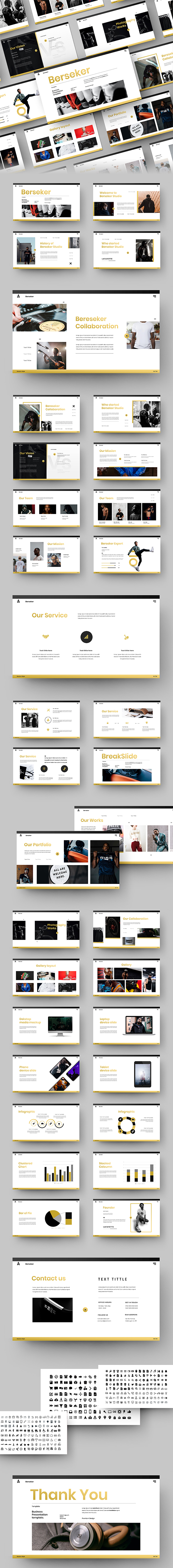 Berseker –  Business Google Slides Template