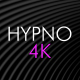 Hypno Black Loop Background Pack 4K - VideoHive Item for Sale