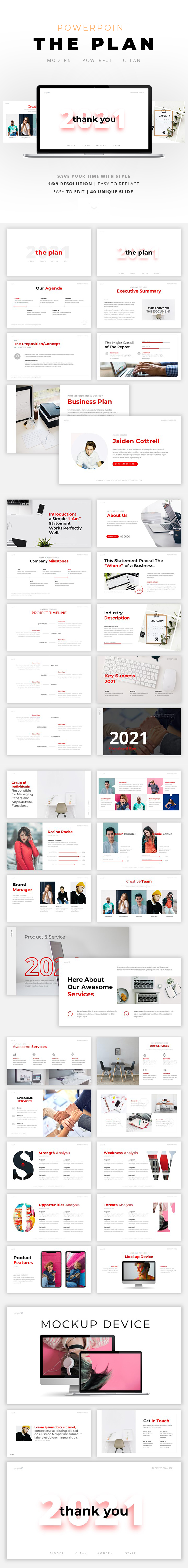 The Planetisimal - Business Powerpoint Template