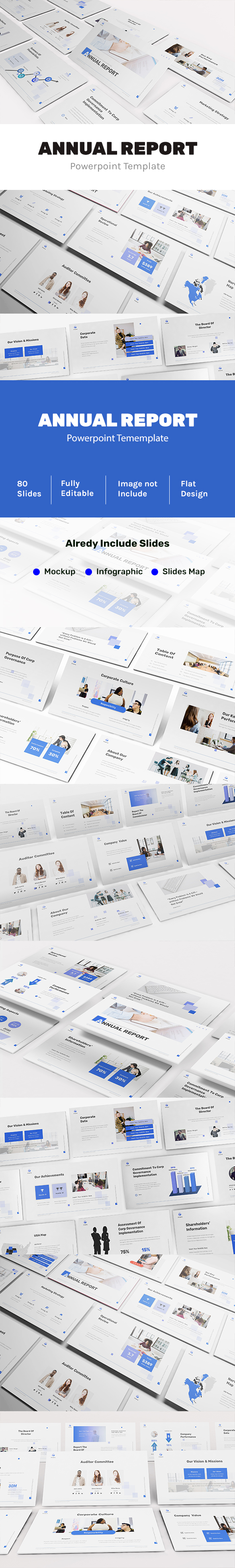 Powerpoint Annual Report Template