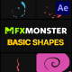 Basic Shapes Pack | After Effects - VideoHive Item for Sale