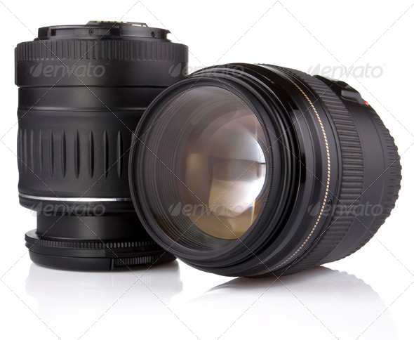 Two lens - Stock Photo - Images