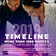Business Ink Brush Timeline - VideoHive Item for Sale