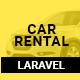 Car Rental - Cab Booking Laravel Script