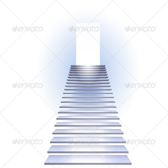 Ladder to success - Business Conceptual