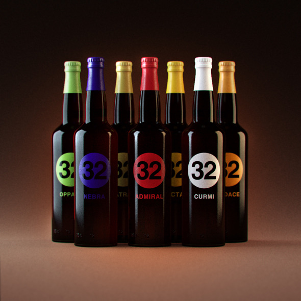 "Photorealistic ""32 Via dei Birrai"" Beers - 3DOcean Item for Sale"