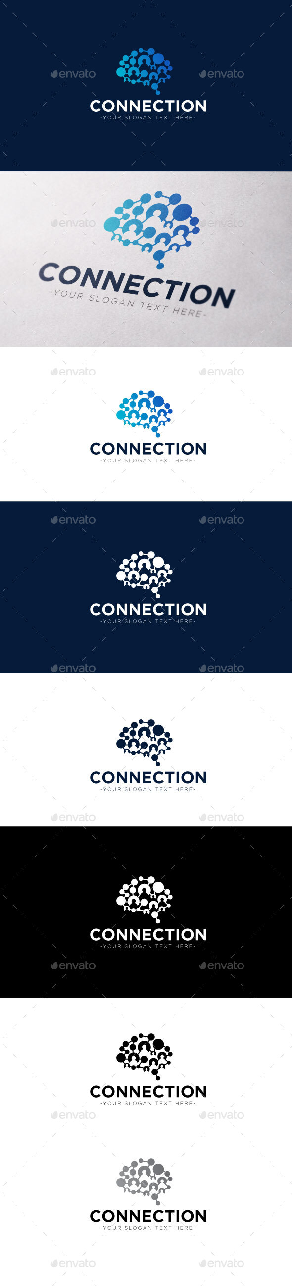 Connection Logo Template