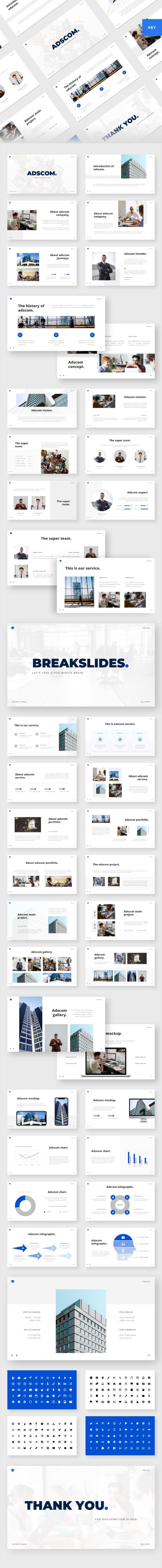 Adscom - Business Keynote Template