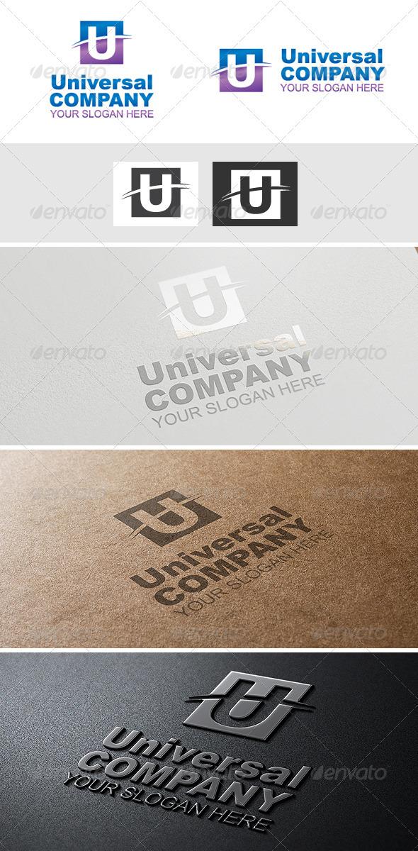 U-letter Logo - Letters Logo Templates