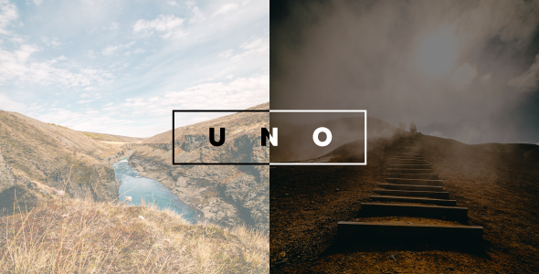 Exceptional Uno - Creative Photography Template