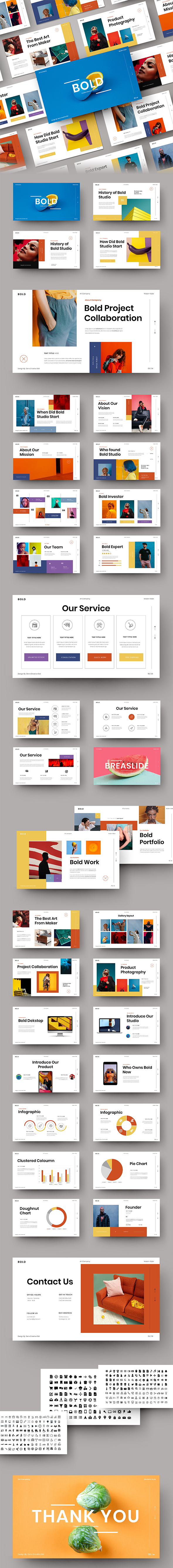 Bold – Business PowerPoint Template