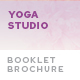 Yoga Studio Booklet Brochure