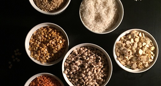 Kinds of legumes