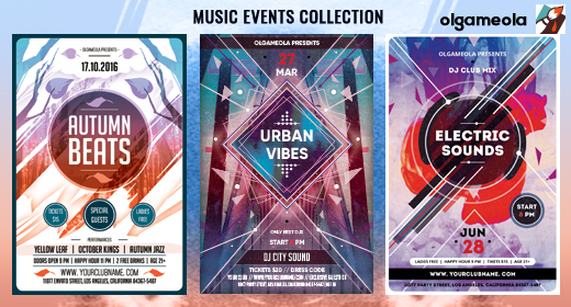Music Flyers Templates