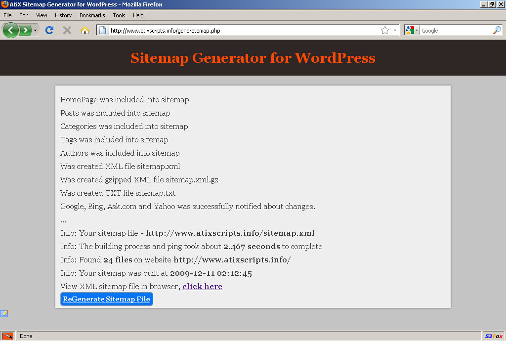 sitemap generator for wordpress google sitemap by atix codecanyon