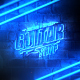 Grunge Neon Logo Reveal - VideoHive Item for Sale