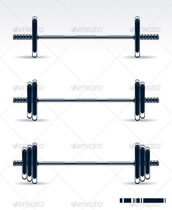 Bodybuilding equipment - Sports/Activity Conceptual